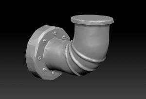 zbrush-model-pipe