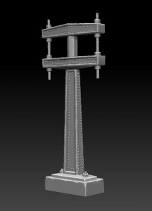 zbrush-model-pole