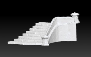 zBrush-staircase