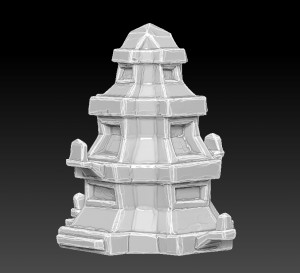 zbrush-temple-roof